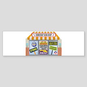 TAXPAYER DOLLARS Sticker (Bumper)