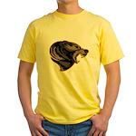 angry bear Yellow T-Shirt