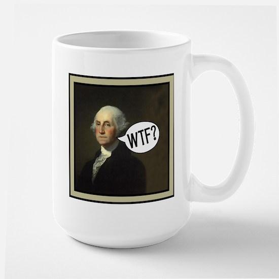 George WTF Large Mug