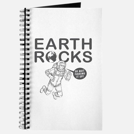 """""""Earth Rocks"""" Journal"""