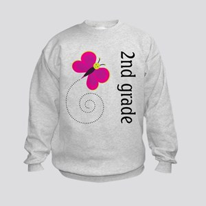 Cute 2nd Grade Kids Sweatshirt