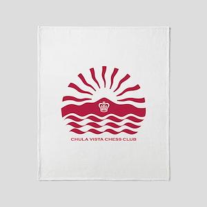 Chula Vista Chess Club Throw Blanket