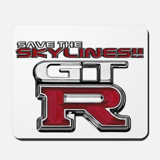 SAVE THE SKY Mousepad