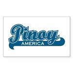 Pinoy America Rectangle Sticker