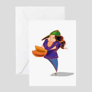 SOFTBALL {10} Greeting Card