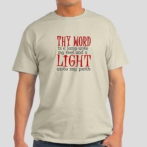 Psalm 119:105 Light T-Shirt