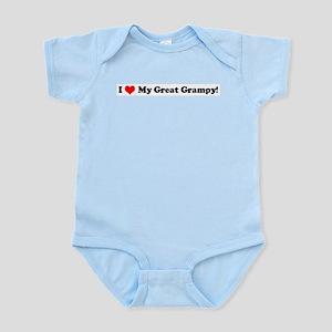 I Love Great Grampy!  Infant Creeper
