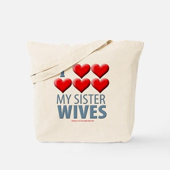 Sister Wives Tote Bag
