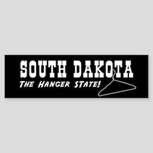 South Dakota - The Hanger State Bumper Sticker