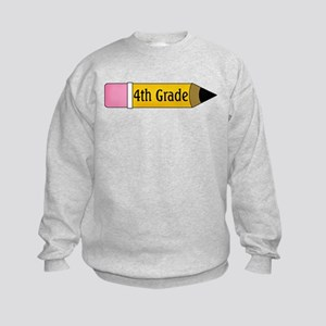 4th Grader Kids Sweatshirt
