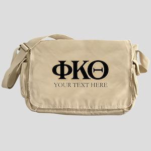 Phi Kappa Theta Letters Personalized Messenger Bag