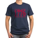 1776 - Independence Day Men's Fitted T-Shirt (dark