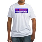 Dollar Gas Fitted T-Shirt