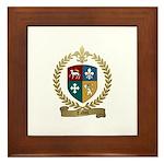 TALBOT Family Crest Framed Tile