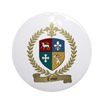 TALBOT Family Crest Ornament (Round)