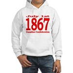 1867 - Canadian Confederation Hooded Sweatshirt