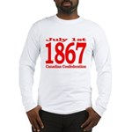 1867 - Canadian Confederation Long Sleeve T-Shirt