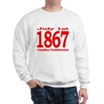 1867 - Canadian Confederation Sweatshirt