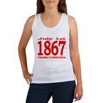1867 - Canadian Confederation Women's Tank Top
