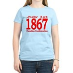 1867 - Canadian Confederation Women's Light T-Shir