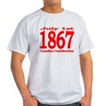 1867 - Canadian Confederation Light T-Shirt