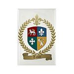TALBOT Family Crest Rectangle Magnet (100 pack)