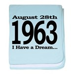 1963 - I Have a Dream baby blanket