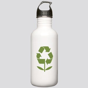 Recycle Flower Stainless Water Bottle 1.0L