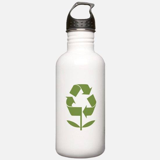 Recycle Flower Water Bottle
