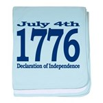 1776 - Independence Day baby blanket