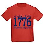 1776 - Independence Day Kids Dark T-Shirt