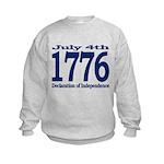 1776 - Independence Day Kids Sweatshirt