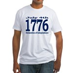 1776 - Independence Day Fitted T-Shirt