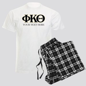 Phi Kappa Theta Letters Perso Men's Light Pajamas