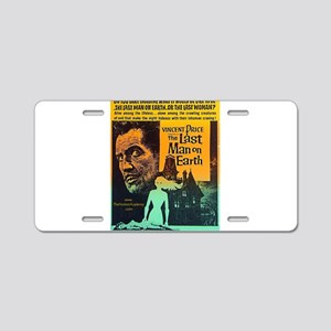 The Last Man On Earth Aluminum License Plate