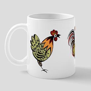 Hen & Rooster Mug