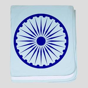 India Emblem baby blanket