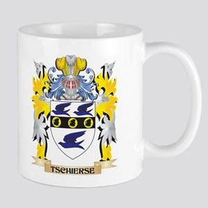 Tschierse Family Crest - Coat of Arms Mugs