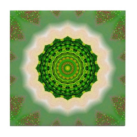 Green Earth CERAMIC TILE COASTER