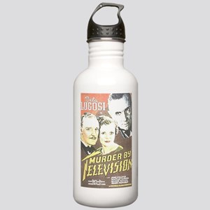 Murder By Television Stainless Water Bottle 1.0L