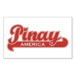 Pinay America Rectangle Sticker
