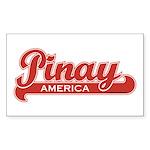 Pinay America Rectangle Sticker