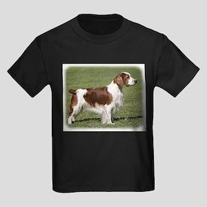 Welsh Springer Spaniel 9Y394D-041 Kids Dark T-Shir