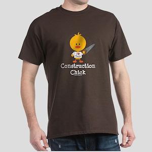 Construction Chick Dark T-Shirt