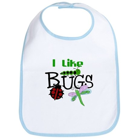 I Like Bugs Bib