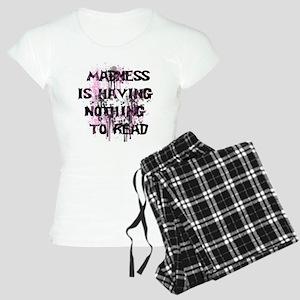 Reading Madness PJs Women's Light Pajamas