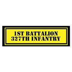 1st Battalion 327th Infantry Sticker (Bumper)