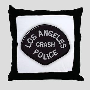 LAPD CRASH Throw Pillow