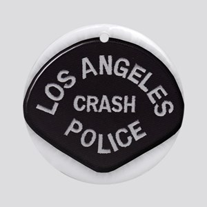 LAPD CRASH Ornament (Round)