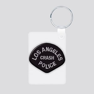 LAPD CRASH Aluminum Photo Keychain